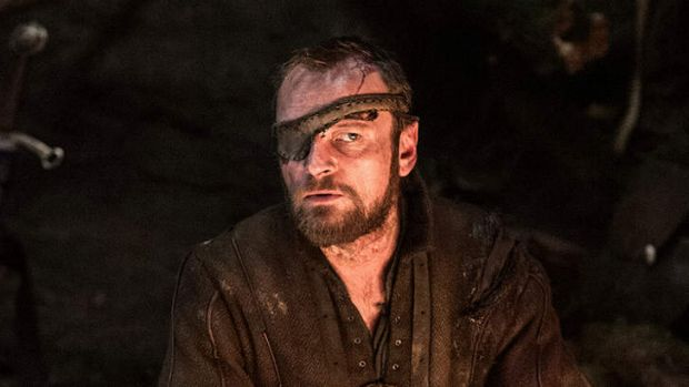 As Lord Beric Dondarrion in <i>Game of Thrones</i>.
