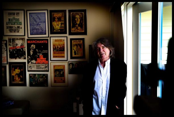 Jim Keays former singer of The Masters Apprentices photographed at his home in Ashburton, Melbourne.