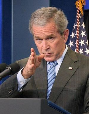 George Bush: pushed aside other politicians to put Nouri al-Maliki in Iraq's top job.