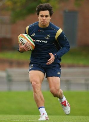 Strong start: Matt Toomua.