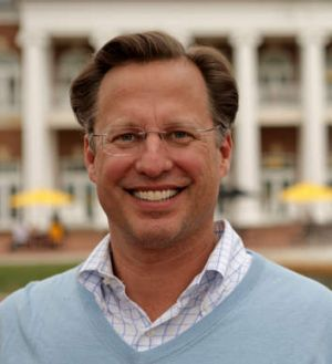 Unlikely winner: economics professor and Tea Party-backed Republican candidate David Brat.