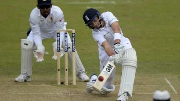 Joe Root hits out on route to his maiden Test double century.