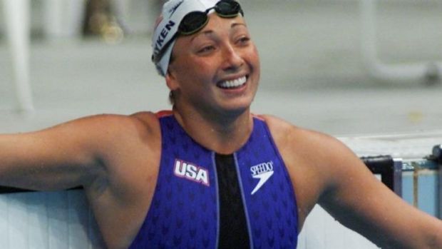 Six-time Olympic champion, Amy Van Dyken.