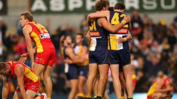 West Coast's Jeremy McGovern (42) had a breakout performance in the win over the Suns.