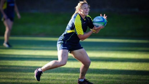 Canberra's  Sharni WIlliams has been named in the Wallaroos squad.