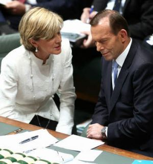 SAS on alert for rescue mission: Foreign Affairs Minister Julie Bishop and Prime Minister Tony Abbott.