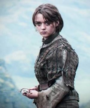 Arya is choosing her own fate, it seems.