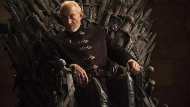 Didn't Tywin get caught out on a different sort of throne.