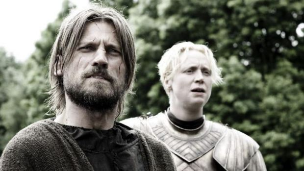 Nikolaj Coster-Waldau, who plays Jaime Lannister (pictured with Gwendoline Christie as Brienne of Tarth), will not be ...