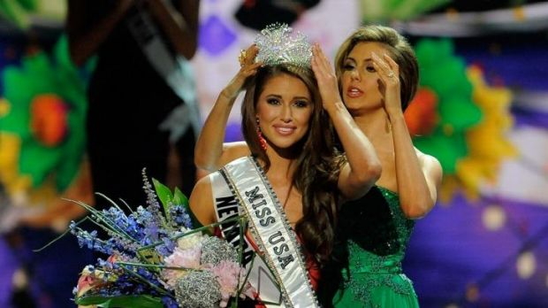 Miss USA Nia Sanchez won after competing as Miss Nevada - but couldn't remember the capital of that state.