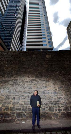 David Beanham lost $180,000 in the two years it took to build towers in his street.