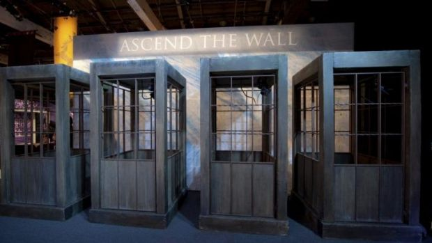 The Wall, part of the Game of Thrones exhibition, coming to the MCA.