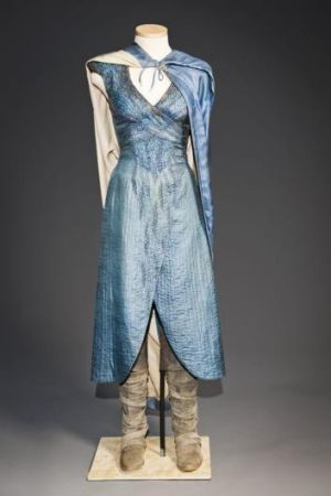 A dress worn by Daenerys in season three.