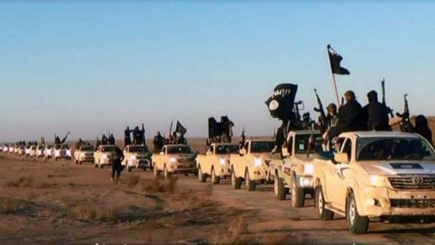 Islamic State of Iraq and the Levant fighters in Iraq.