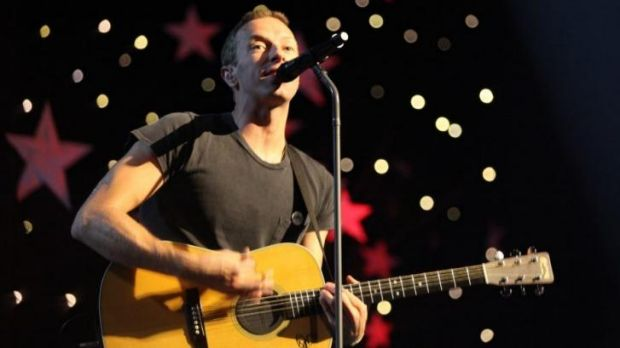 Coldplay live in Sydney which will air on Max's 50th Sessions.