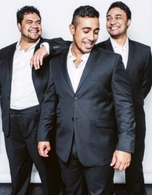 Sol3 Mio are: (L-R) Pene Pati, Moses Mckay and  Amitai Pati