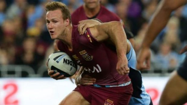 Queensland pivot Daly Cherry-Evans.