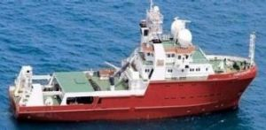 Furgo Equator MV, the Dutch ship used in mapping the Indian Ocean floor in search of missing Malaysia Airlines flight MH370.