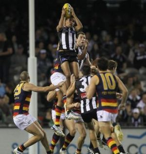 Andrew Krakouer's time with Collingwood included this screamer in 2011.