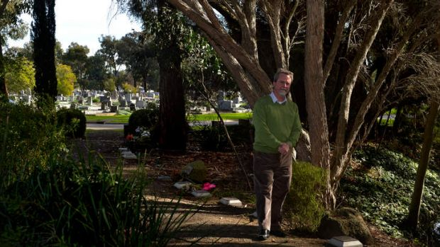 Thinking ahead: Cemeteries' horticultural chief Kevin Walsh in Fawkner Memorial Park.