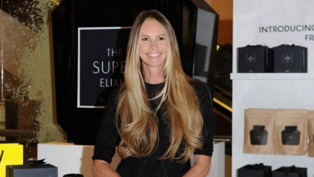 Elle Macpherson launches The Super Elixir at Selfridges