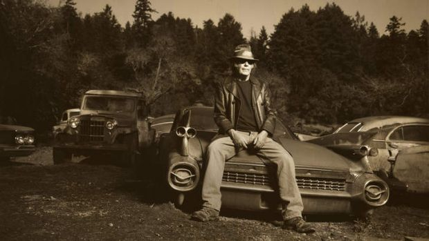 Neil Young: creating soul music without the precision.