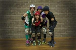 Ready to roll: The Canberra Roller Derby League starts June 28.