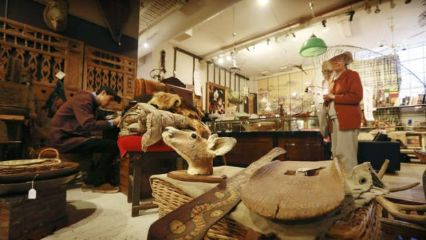 """""""Rare and precious wares"""": The owners of the Sydney Antique Centre are expected to turn the site into apartments."""