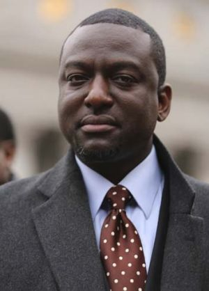 Yusef Salaam in 2013.