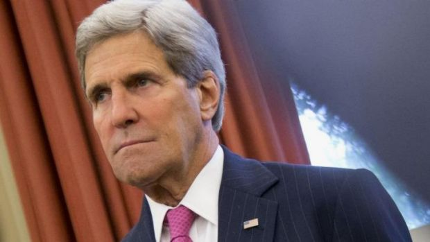 Hinted about US backing for a new government: Secretary of State John Kerry