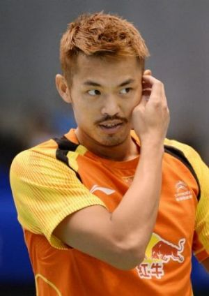 "Lin Dan is known to his fans as ""Super Dan""."