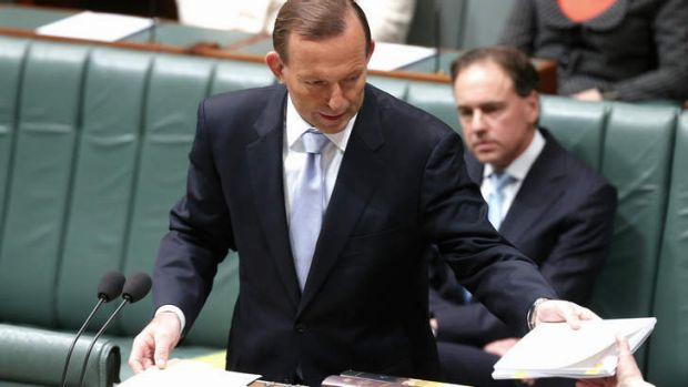 Prime Minister Tony Abbott re-introduces the Carbon Tax repeal bills in the House of Representatives.