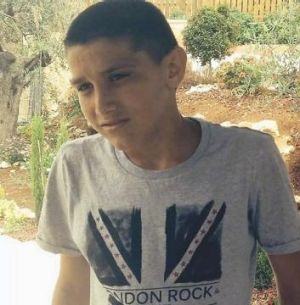 Fatality: Mohammed Karaka, 13, was killed by anti-tank fire from Syria.