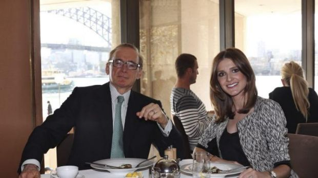 """Missing politics """"surprisingly little"""": Bob Carr with Kate Waterhouse."""
