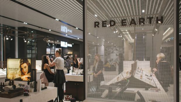 Red Earth's new store in Melbourne.