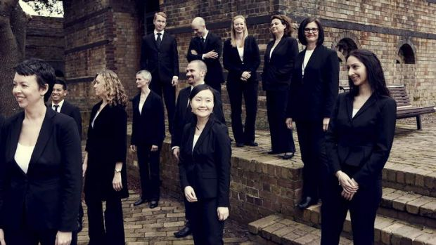 Sydney Chamber Choir. Photo by Barnaby Wilshier.