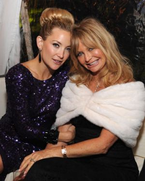 "Goldie Hawn with daughter Kate Hudson .... ""It's heart-warming to know that all mums really want is for their daughter ..."