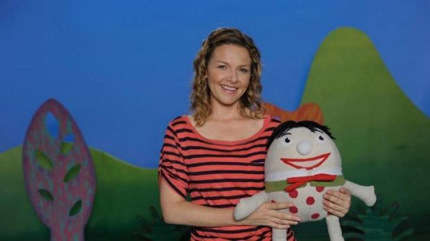 Farmed out?  Play School, featuring host Justine Clark.