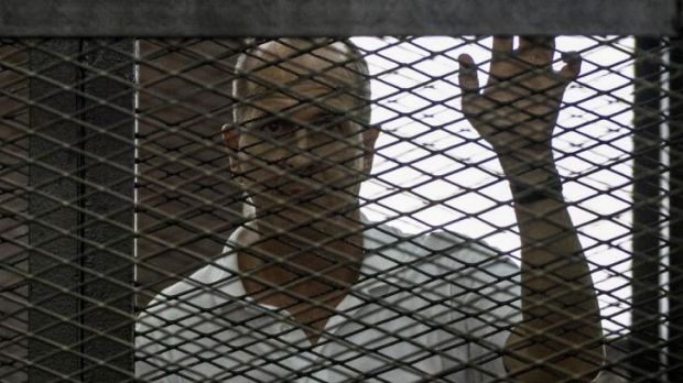 Jailed for seven years: Peter Greste.