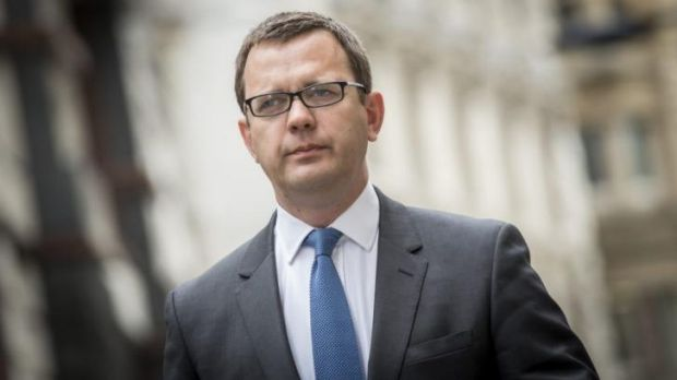 Found guilty: Former government director of communications and <i>News Of The World</i> editor Andy Coulson.