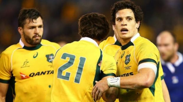 Brumby Matt Toomua injured his adductor while playing for the Wallabies.