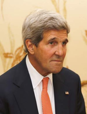 """A disturbing setback to Egypt's transition"": US Secretary of State John Kerry."