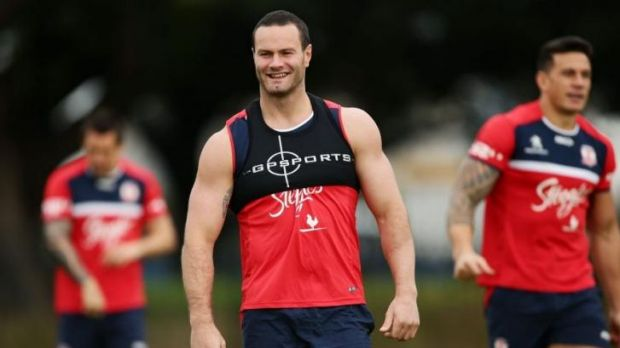 Rooster booster: Boyd Cordner will return on Friday after being sidelined for seven weeks by an ankle injury.