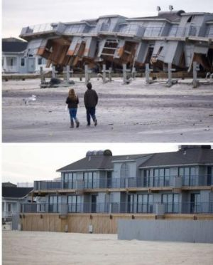 Superstorm Sandy brought a hefty repair bill.