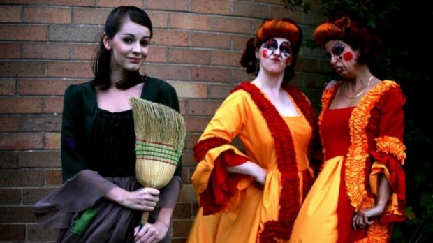 A Cinderella panto staged five years ago