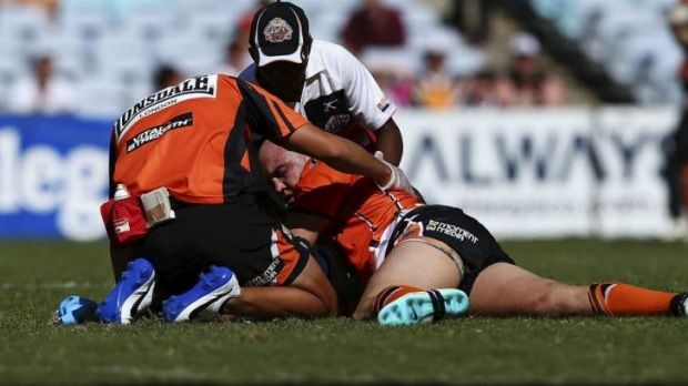Cause for concern: Liam Fulton's concussion issues  have added to debate on the  subject.
