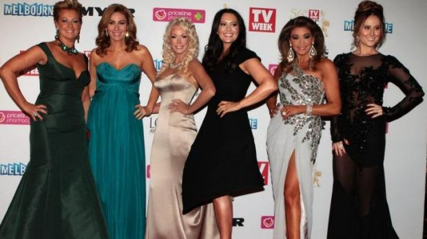 Who will be back for series 2? Original cast members of The Real Housewives of Melbourne (L-R) Chyka Keebaugh, Andrea ...