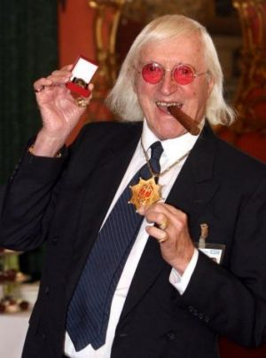 Jimmy Savile in 2008.