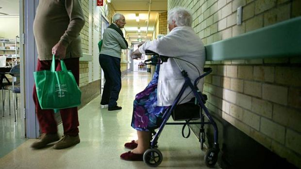 Growth area for jobs: Aged care.