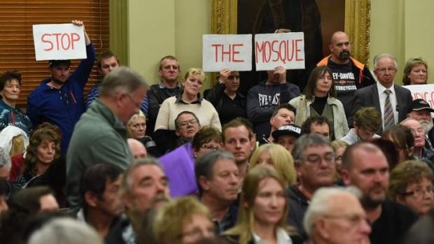 Police were called in to maintain order at the City of Greater Bendigo council meeting earlier this month.